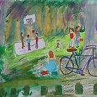 Family Day at the Park by Alison Pearce