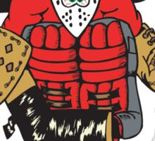 Hockey Goalie Sticker