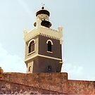 Lighthouse of Old San Jaun  by Joseph Allert