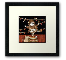 Fern's Fun at the Fringe Framed Print