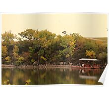 Tranquil Marion County Lake  Poster