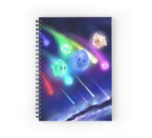 Star bit Showers Spiral Notebook