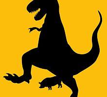 Jurassic Pork by OliverAgony