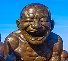 Laughing Man by Yukondick