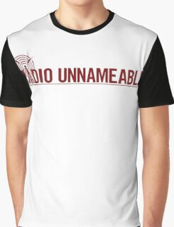 Radio Unnameable Graphic T-Shirt