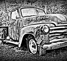 Old Chevy Truck 1 by Purple Cloud Productions, Inc.