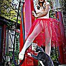 Beautiful Kayla Ocean & Travis the Cat! by Purple Cloud Productions, Inc.