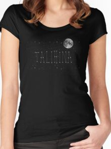 Talihina Stars Women's Fitted Scoop T-Shirt