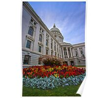 State Capitol, Madison, Wisconsin Poster