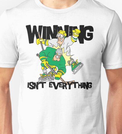 "Funny Hockey ""Winning Isn't Everything"" Unisex T-Shirt"