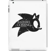 Badniks are Coming - Hedgehog iPad Case/Skin