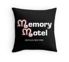 Memory Motel Throw Pillow