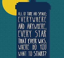 All Of Time And Space by six-fiftyeight