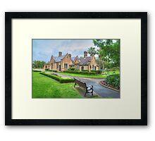 Gardeners Lodge & Garden Framed Print