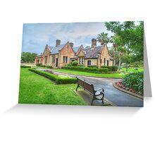 Gardeners Lodge & Garden Greeting Card