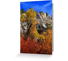 Towering Fall Greeting Card