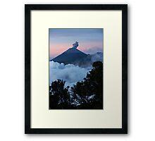 Mt Semeru at dawn. Java. Indonesia. Framed Print