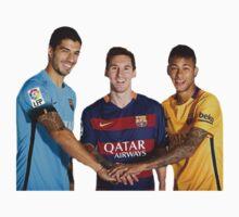 Messi, Suárez and Neymar One Piece - Long Sleeve
