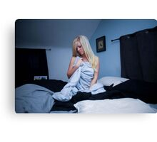 In the bedroom Canvas Print