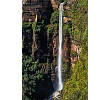 Bridal Veil Falls, Blackheath, NSW, Australia Photographic Print