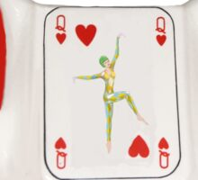 Queen of Hearts Design Sticker