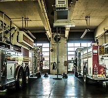 Engine 1 and Truck 1 by Ben Newby