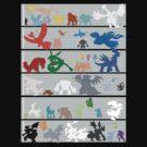 Pokemon Size Chart Color by jonmelnichenko