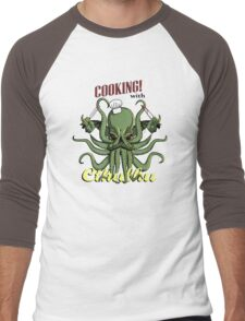 Cooking with Cthulhu Men's Baseball ¾ T-Shirt