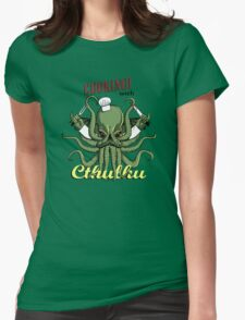 Cooking with Cthulhu Womens Fitted T-Shirt