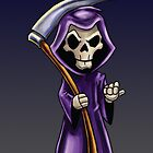 Grim Reaper with Scythe by screamingtiki