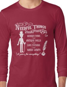 Mr. Needful Shirt Long Sleeve T-Shirt