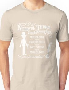 Mr. Needful Shirt Unisex T-Shirt