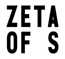 Zeta of S Photographic Print