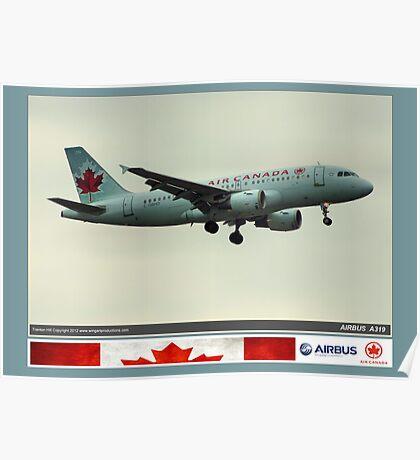 Air Canada Airbus 319 Poster
