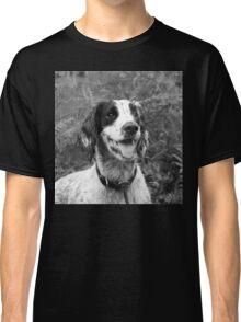 Dog portrait, spaniel in bracken Classic T-Shirt