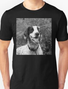 Dog portrait, spaniel in bracken Unisex T-Shirt