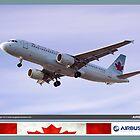 Air Canada Airbus 320 by Trenton Hill