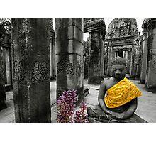 Purple and Gold, Cambodia Photographic Print