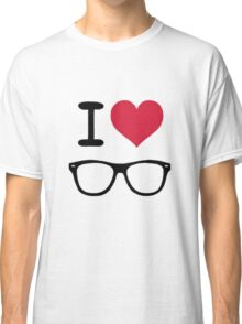 hipster love Classic T-Shirt