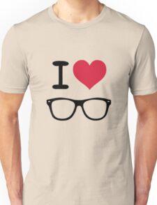 hipster love Unisex T-Shirt