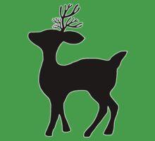 deer silhouette Kids Tee