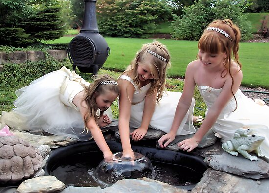Fountain Fun by ShutterUp Photographics