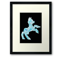 Crystal Pony (maybe Diamond I dunno) Framed Print