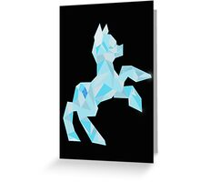 Crystal Pony (maybe Diamond I dunno) Greeting Card
