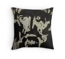 Anguish, watercolor Throw Pillow