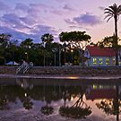 Old Baptist Church Sandgate Reflections Queensland Australia by PhotoJoJo