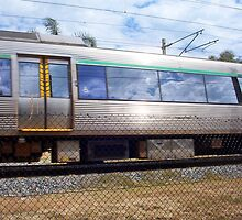 Train Photograph 02 10 12 by Robert Phillips