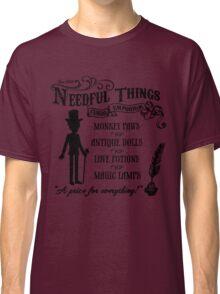 Mr. Needful Shirt (Black Print) Classic T-Shirt