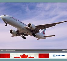 Air Canada Boeing 777 by Trenton Hill