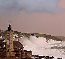 storm in cornwall by kathleenjean